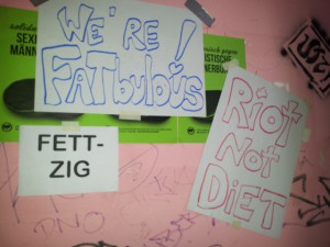 fettzig, we're fatbulous, riot not diet